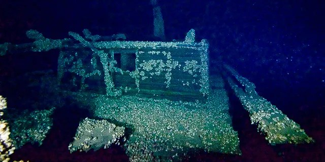 The W.C. Kimball's stern cabin. (Steve Wimer II)