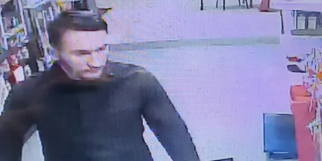 The Franklin County Sheriff's Office provided Fox News with this video surveillance picture of Michael Alexander Brown, dated Nov. 9.
