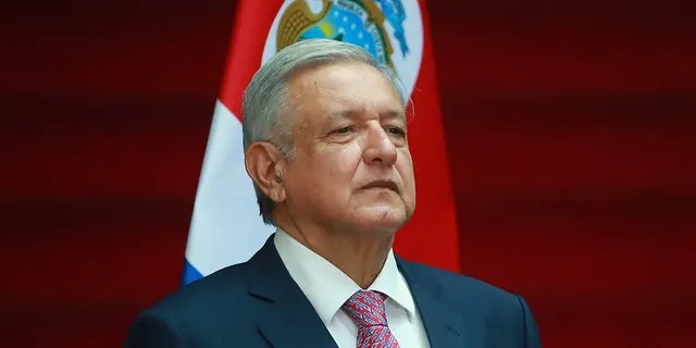 "Andres Manuel Lopez Obrador, President of Mexico, remained defiant over his ""hugs, not bullets"" stance on fighting drug cartel violence."