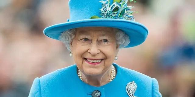 Queen Elizabeth II visits Queen Mother Square