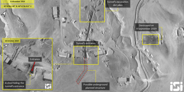 EUA em alerta: Irã esconde mísseis em túnel subterrâneo da Síria 20