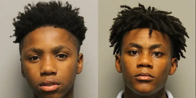 Decorrius Wright, left, andMorris Marsh were among four teens who escaped the Juvenile Detention Center in Nashville, Tenn., Saturday night, police said.