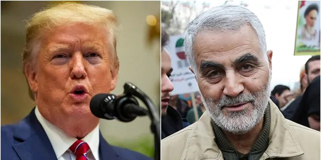 President Trump reportedly ordered the military strike last year that killed Iranian Gen. Qassem Soleimani in Iraq.