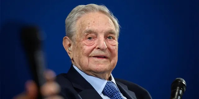Hungarian-born US investor and philanthropist George Soros looks on after having delivered a speech on the sidelines of the World Economic Forum (WEF) annual meeting, on January 23, 2020 in Davos, eastern Switzerland. (Photo by FABRICE COFFRINI / AFP) (Photo by FABRICE COFFRINI/AFP via Getty Images)