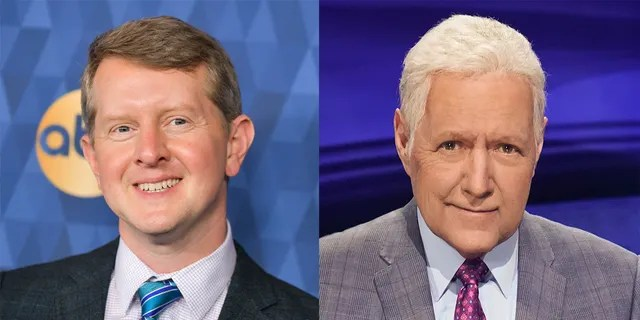Ken Jennings, left, will be joining 'Jeopardy!' as a consulting producer for Season 37.