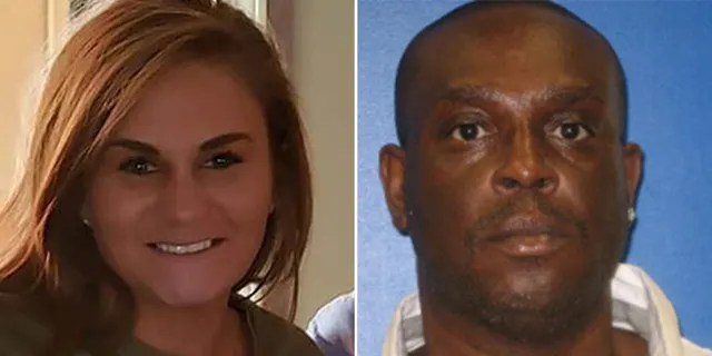 Frederick Hampton, 50, was wanted in the disappearance of Paighton Houston, left, last seen leaving a Birmingham, Ala., bar Dec. 30. Her body was found two weeks later.