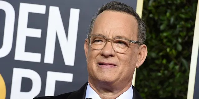 Tom Hanks arrives at the 77th annual Golden Globe Awards at the Beverly Hilton Hotel on Sunday, Jan. 5, 2020, in Beverly Hills, Calif.