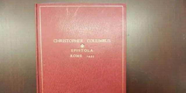 Investigators said they have recovered a letter dating back to 1493 written by Christopher Columbus. The letter had been stolen from a library in Italy.