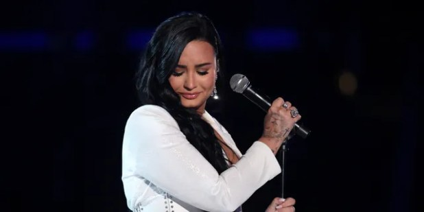 Demi Lovato has long been an outspoken ally of the LGBTQ community.  (Photo by Matt Sayles / Invision / AP)