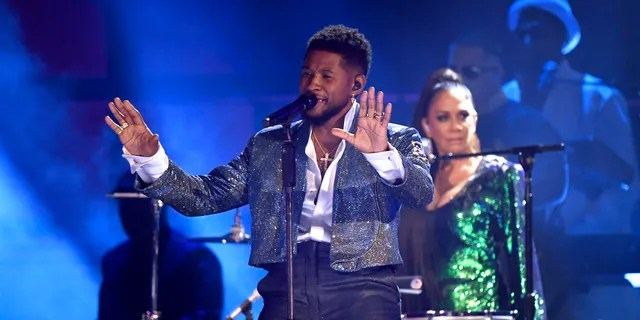 Usher performs onstage during the 62nd Annual GRAMMY Awards at Staples Center on January 26, 2020 in Los Angeles, California.
