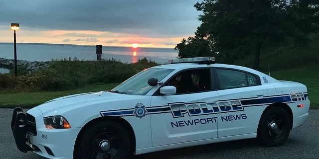 The Newport News Police Department announced Thursday that one of its officers died after being dragged by a vehicle trying to flee a traffic stop.