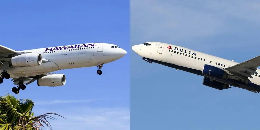 Couple diagnosed with coronavirus flew on Delta, Hawaiian Airlines ...
