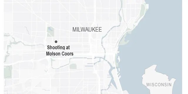 Milwaukee police said five people were killed by a gunman who also died from an apparent self-inflicted gunshot wound at the Molson Coors Brewing Co. campus Wednesday.