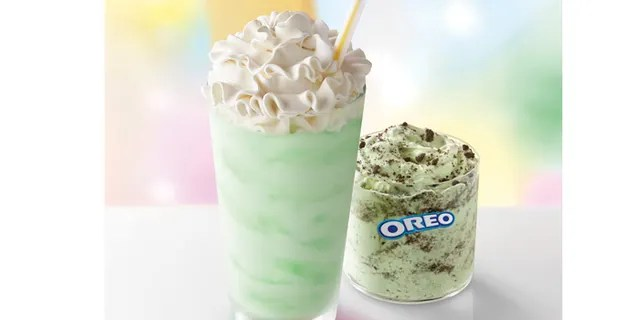 This year,Mickey D's also celebrating the iconic drink's 50th anniversary, and toasting the milestone with an all-new Oreo Shamrock McFlurry.