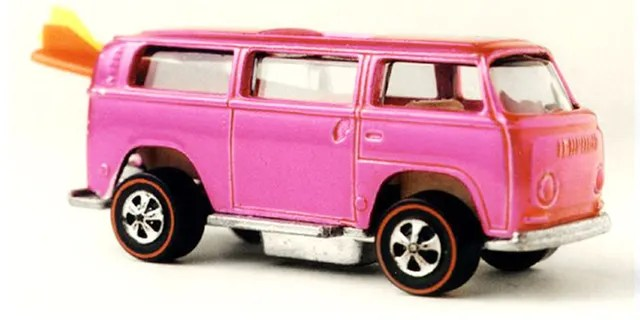 According to Mattel, the prototype Beach Bomb was too tall and narrow and not stable enough to meet Hot Wheels performance targets.