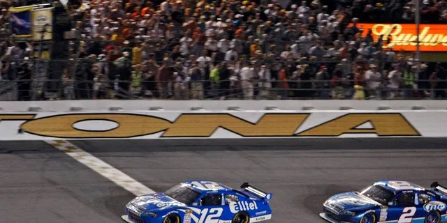 Ryan Newman held off teammate Kurt Busch to win the 2008 race.