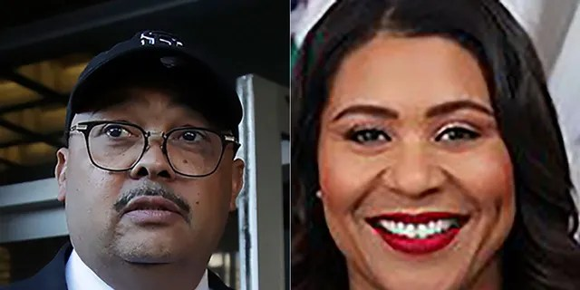 Former director of San Francisco Public Works Mohammed Nuru (left) and San Francisco Mayor London Breed (right).