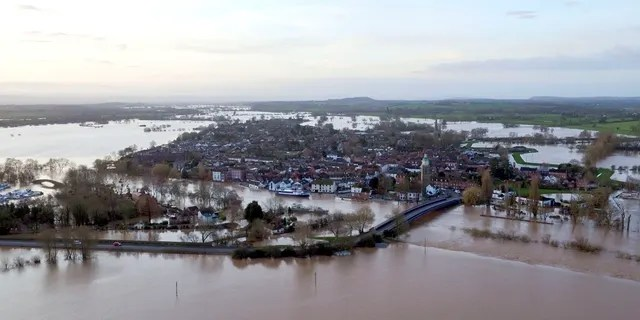 Britain's Environment Agency issued severe flood warnings Monday, advising of life-threatening danger after Storm Dennis dumped weeks' worth of rain in some places.