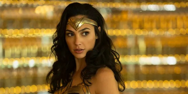 "Gal Gadot as Wonder Woman in a scene from ""Wonder Woman 1984."" Warner Bros. on Tuesday delayed the summer release of the film to Aug. 14 instead of June 5 due to the coronavirus pandemic."