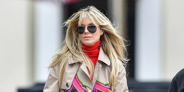 Heidi Klum arrived to the set of 'America's Got Talent' on Tuesday before reportedly falling ill.