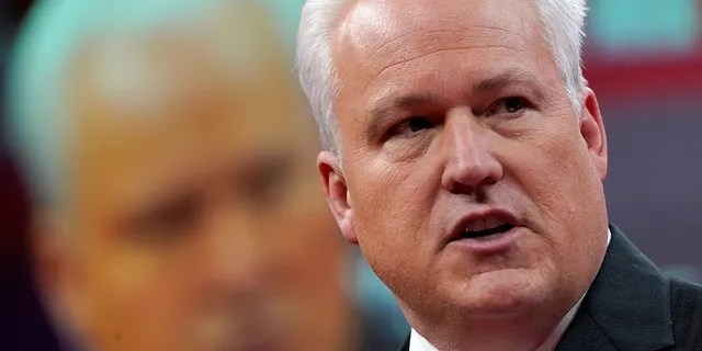 Matt Schlapp, chairman of the American Conservative Union, speaks at the Conservative Political Action Conference (CPAC) at National Harbor in Oxon Hill, Maryland, U.S., February 28, 2019. REUTERS/Kevin Lamarque - RC1556BA8460