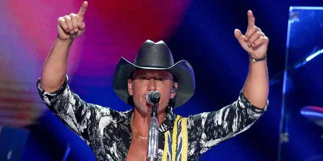 Tim McGraw said he used to drink before every show to calm his nerves and 'stop shaking.'
