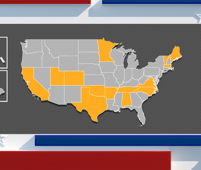 Super Tuesday Guide The States The Stakes Whos In Contention