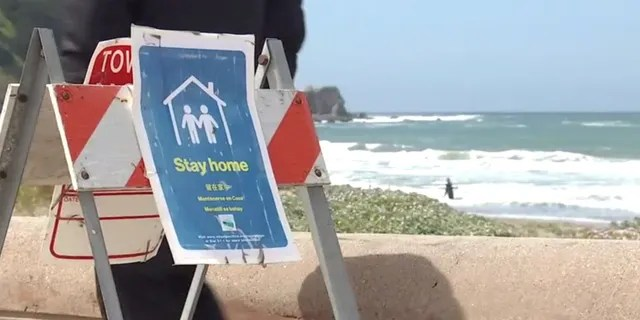 Hundreds of people were ordered off beaches in northern California over the weekend for violating shelter-in-place orders. In Pacifica, police said that roughly 45 percent of the vehicles counted near beach and trail areas were from areas outside of five miles from which they were registered.