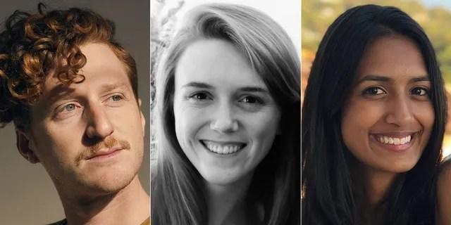Ian Kaplan, Amy Johnson and Shenara Musthaq