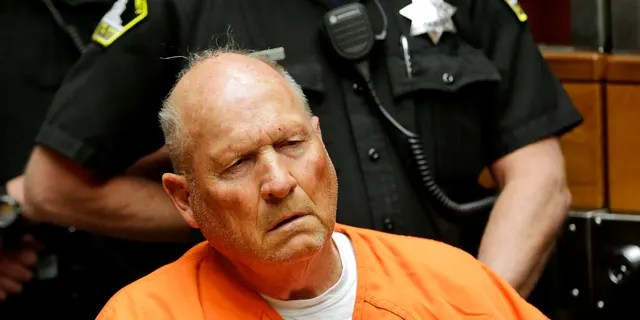 FILE: Joseph James DeAngelo, is arraigned in Sacramento County Superior Court in Sacramento, Calif.