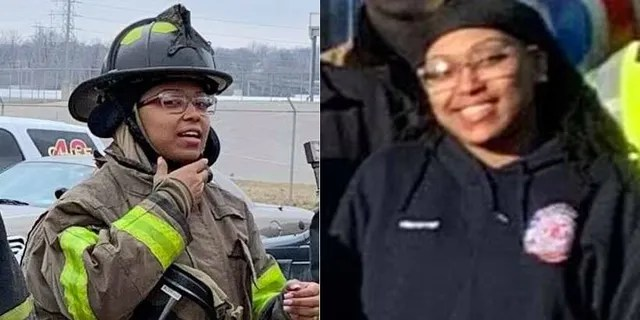 Kinloch Fire Protection District firefighter Arlydia Bufford, pictured.