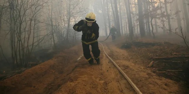 Chernobyl Us Forest Service Helps Reduce Wildfire Risk In
