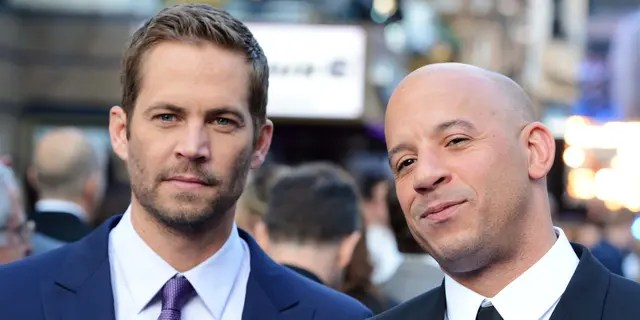 (L-R) Paul Walker and Vin Diesel attend the world premiere of 'Fast And Furious 6' at The Empire Leicester Square on May 7, 2013 in London, England.