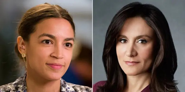 Wall Street titans are pumping thousands of dollars into the campaign coffers of Alexandria Ocasio-Cortez's Democratic primary challenger Michelle Caruso-Cabrera.