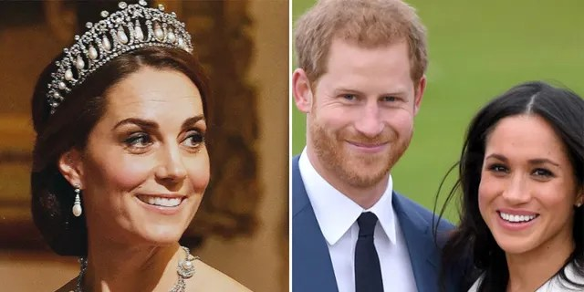 Kate Middleton warned Prince Harry to be cautious when he first began dating Meghan Markle, a new book claims.