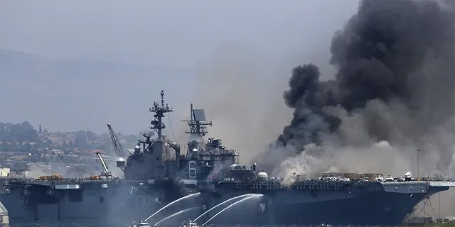 21 Injured After Explosion And Fire Breaks Out On Uss