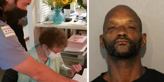 Chicago police said the 85-year-old woman signed complaints in the case. Mugshot for Tony Davis, 45.