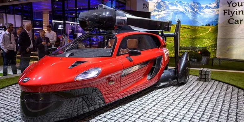 The PAL-V's name is short for Personal Land Air Vehicle.