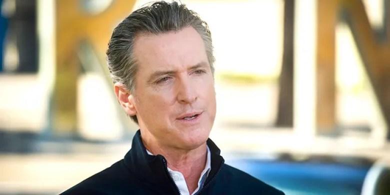 California Gov. Gavin Newsom speaks at a press conference on Sept. 23.(Daniel Kim/The Sacramento Bee via AP, Pool)