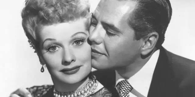 Lucille Ball and Desi Arnaz during happier times.