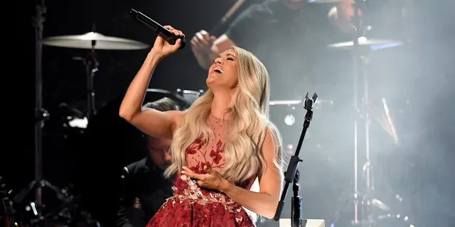 Carrie Underwood performs onstage during the 55th Academy of Country Music Awards at the Grand Ole Opry on September 13, 2020 in Nashville, Tennessee. The 55th Academy of Country Music Awards is on September 16, 2020 with some live and some prerecorded segments. (Photo by Jason Kempin/ACMA2020/Getty Images for ACM)