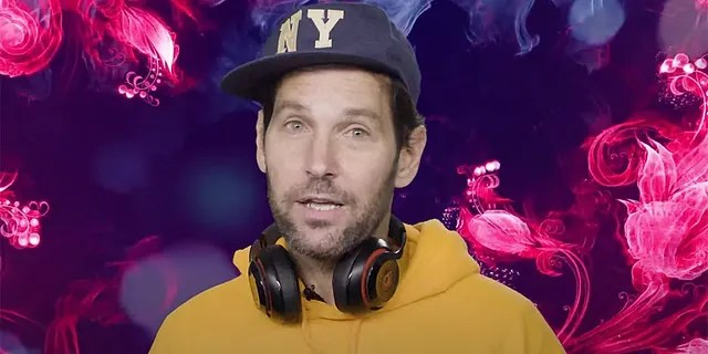 Paul Rudd, 51, took on the persona of a millennial to deliver a coronavirus-related public service announcement.