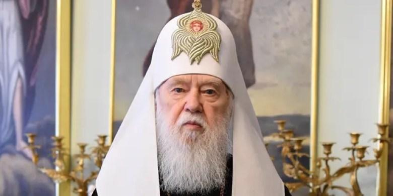 Ukrainian Patriarch Filaret (@PhilaretPatriarch/Facebook)