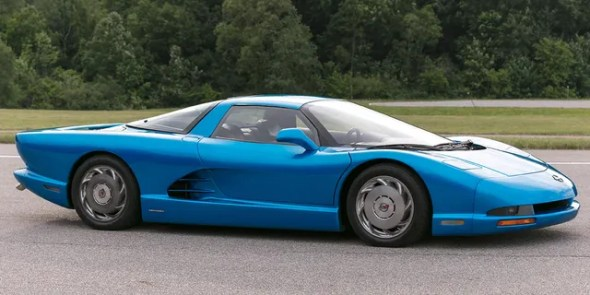 "The 1990 CERV III never made it into production but could be driven in the video game ""Test Drive III: The Passion."""