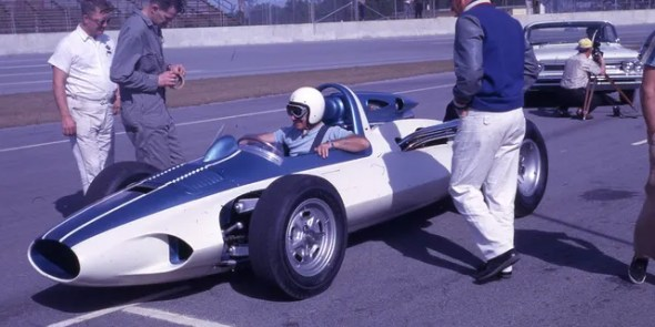 The Chevrolet Experimental Research Vehicle, or CERV I, was revealed in 1960 to explore the possibilities of a mid-engine layout.