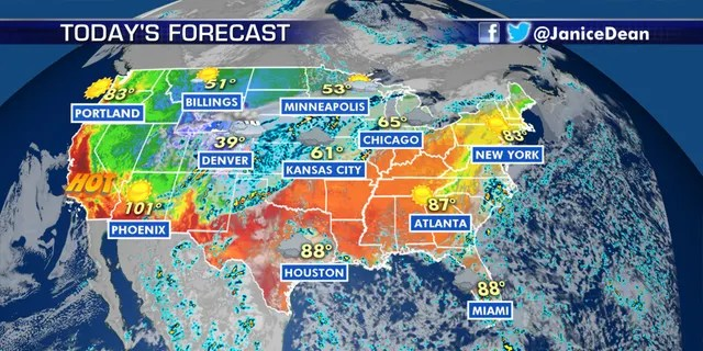 The national forecast for Sept. 8, 2020.