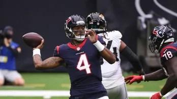 Watson tosses 3 TDs as Texans get 1st win, 30-14 over Jags