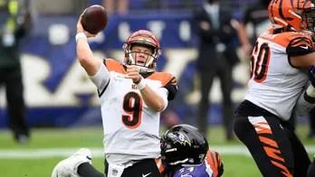 Ravens get defensive, stuff Burrow in 27-3 rout of Bengals