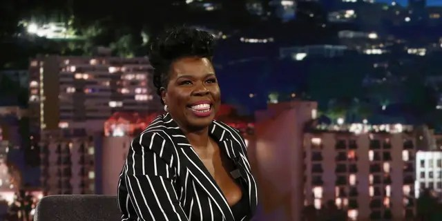 "Leslie Jones says ""Saturday Night Live"" was a challenging job. (ABC/Randy Holmes)"