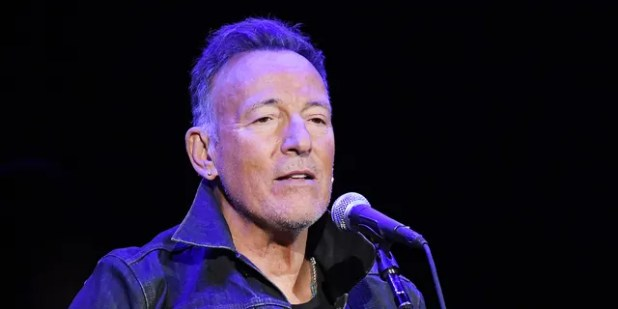 Bruce Springsteen said that if President Trump was re-elected he would be on Australia's 'next plane'.  (Photo by Mike Coppola / Getty Images for the Bob Woodruff Foundation)